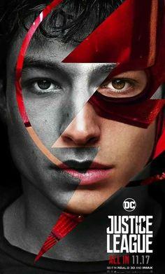 DC Comics Upcoming Movie Justice League Ezra Miller as The Flash