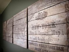 Pottery Barn Inspired Planked New York Map-002