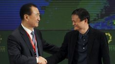 Saga of Chinese billionaire Wang Jianlin crossed China's censorship lines, stinging Western media Wang Jianlin (left), chairman of Dalian Wanda Group, shakes hands with Jack Ma, executive chairman of Alibaba Group. Beijing: Chinese billionaire Wang Jianlin commands attention, and not just because he is the richest man in Asia.  Best known for his sprawling shopping complexes in China, the 60-year-old's Wanda Group conglomerate is pouring billions of dollars into real estate projects across…