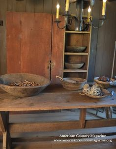 Primitive Dining Rooms Cabinets Quilts Kitchen Furniture Antiques Country Decor