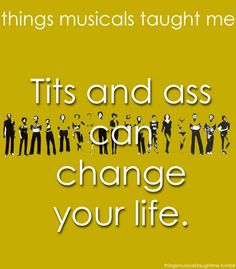 Chorus Line - What Musicals Taught Me
