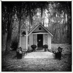 "letsbuildahome-fr:  Jason Powell ""The Smallest Church in America"" Townsend, GA."