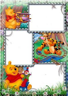 La Página de Inesita: Frames Infantiles de Winnie pooh gran resolucion