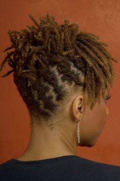 Simple loc up-do…. | Black Women Natural Hairstyles