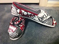 Boomer Sooner Toms. Love them!