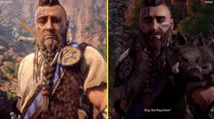 [Video] Horizon Zero Dawn E3 2016 PS4 vs PS4 Pro 2017 Retail Graphics Comparison #Playstation4 #PS4 #Sony #videogames #playstation #gamer #games #gaming