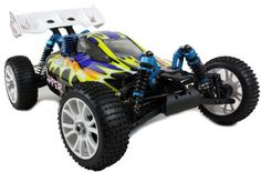 This superb off road buggy boasts a powerful SH18 engine with 2.4G remote lightweight version.