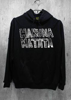 Hakuna Matata Shirt The Lion King Shirt Hoodie by WinterIszComing