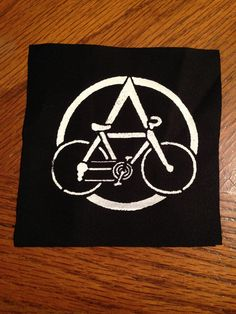 Anarchist Bike Punk Patch por PatchTrash en Etsy