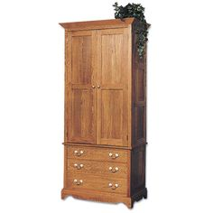 Superbe Armoire Plans Three Doors | Bedroom Furniture   Armoire U0026 Bachelor Chest  Plan