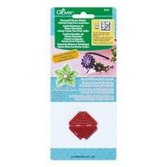 Werkzeug für Kanzashi Blumen Clover spitzes Blumenblatt 35 mm x1