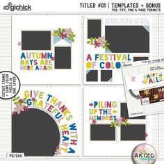 Titled # 01 by Akizo Designs | Digital Scrapbooking