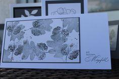Stampin Up! Trauerkarte; Herbstfarben