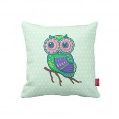 Beauty Craft Owl Decorative Cushion
