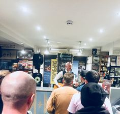 Jamie Lenman in store at Resident Records - 30 October 2017 Shows 2017, October, Store, Tent, Shop Local, Larger, Business, Storage