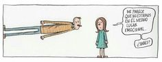 Liniers Walking On A Dream, Funny Scenes, Humor Grafico, Good Notes, Motivation, Feelings, Sayings, My Love, Quotes