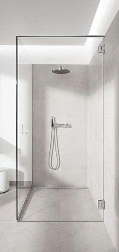 Unique but cool bathroom shower remodel ideas Bathroom Floor Tiles, Bathroom Toilets, Laundry In Bathroom, Bathroom Layout, Bathroom Interior Design, Bathroom Fixtures, Bathroom Lighting, Bathroom Ideas, Bathroom Designs