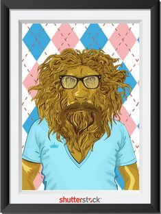 Oh my he looks like Jim James!  'The Wizard Of Oz' Characters Reimagined As Hipsters - DesignTAXI.com