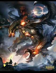 Dragon de feu <3 *****
