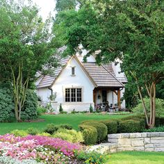 Sims, Southern Porches, French Cottage, Small English Cottage, English Cottage Exterior, English Style, Cottage Homes, Cottage Style Houses, Cottage Living