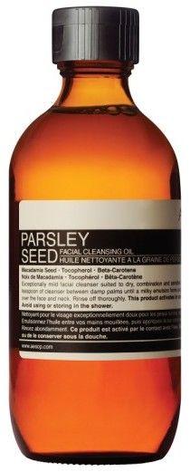 Aesop Parsley Seed Facial Cleansing Oil $60