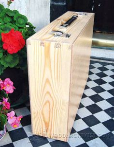 Wooden Attache Case Plans - Woodwork, Woodworking, Woodworking Plans, Woodworking Projects