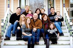 outdoor family portraits
