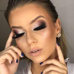 Amazing Wedding Makeup Tips – Makeup Design Ideas Makeup 2018, Prom Makeup, Bridal Makeup, Hair Makeup, Make Up Looks, How To Make Hair, Eye Make Up, Eyeliner, Eyeshadow