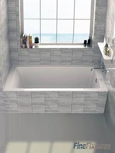 "Alcove 32"" x 60"" Bathtub"