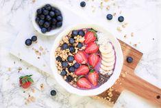 Acai Bowl, Smoothies, Breakfast, Food, Meal, Kochen, Food Food, Acai Berry Bowl, Smoothie