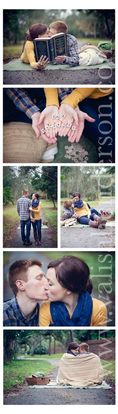 Adorable 2 Year couples/anniversary shoot! Cozy set up with boots and blankets and books!  Valisa Henderson Photography www.valisahenderson.com