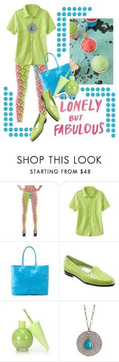 """""""Lonely but Fabulous"""" by queenrachietemplateaddict ❤ liked on Polyvore featuring TravelSmith, HOBO, Trotters, Karen Kane, BillyTheTree, Hartmann, flats, pastel, Leggings and printleggings"""