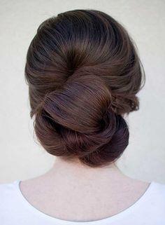 Gelinlik Güzel Topuz Saç