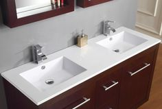 One Piece Bathroom Sink And CountertopMolded Sink Countertop - One piece bathroom sink and countertop