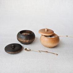 Muhs Home - Birch Salt Cellar