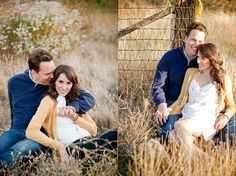 Summer Engagement session, yellow and blue