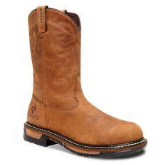 Rocky Original Ride Waterproof Steel Toe Western Work Boots – Men Western Wear, Western Boots, Pull On Boots, Steel Toe, Men Looks, Shoe Boots, Shoes, Riding Boots, Westerns