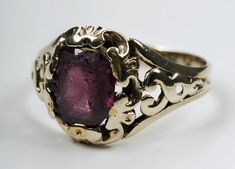 This is Fanny's engagement ring from Keats. She lived 44 years longer than he, and wore the ring for the rest of her life.