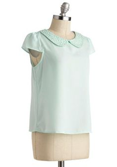 Pearly-cue Top, #ModCloth