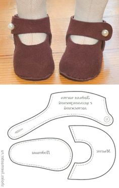 Doll pattern felt baby shoes 57 Ideas for 2019 Sewing Doll Clothes, Baby Doll Clothes, Sewing Dolls, Baby Doll Shoes, Felt Baby Shoes, Diy Dolls Shoes, Doll Shoe Patterns, Baby Shoes Pattern, Baby Moccasin Pattern
