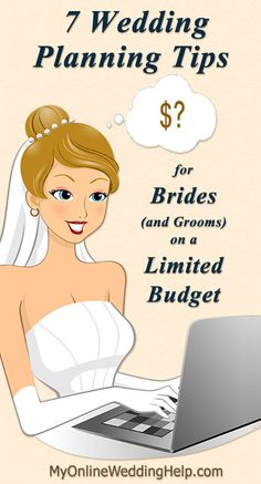 Limited budget wedding planning tips to help you plan a dream wedding. How to prioritize wedding planning and control wedding costs.
