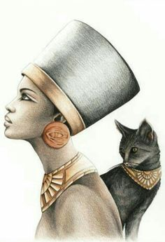 Character Diamond Painting Egyptian Queen & Black Cat Cross Stitch Home Decoration Painting - New Ideas Bastet Goddess, Egyptian Cat Goddess, Egyptian Cats, Egyptian Queen, Egyptian Mythology, Ancient Egyptian Art, Ancient Aliens, Ancient Greece, Ancient History