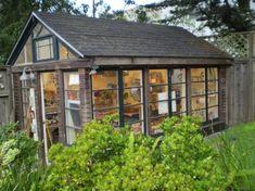 Zahradní altán s prosklením -
