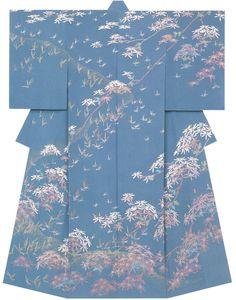 Kaga-Yuzen Kimono Yoshitaka Takahira