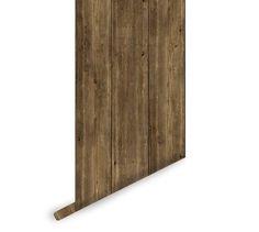 Reclaimed Wood Wallpaper Rustic Barn Wood Peel and Stick