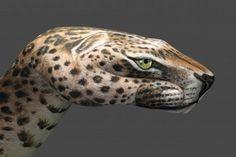 moderne kunst leopard
