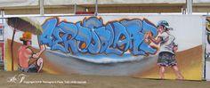 Aerosolare - Cervia, 20/08/2005 - Tomoz + Louke + Flake    #streetart #cervia