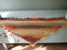 chusta na szydełku, crochet shawl, video tutorial
