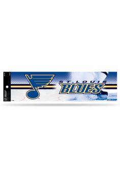 St Louis Blues 3x11 1/2 Auto Bumper Sticker