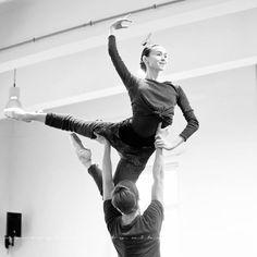 "Olesya Novikova and Leonid Sarafanov rehearsing ""Don Quixote"" - Ballet, балет, Ballett, Bailarina, Ballerina, Балерина, Ballarina, Dancer, Dance, Danse, Danza, Танцуйте, Dancing, Russian Ballet"